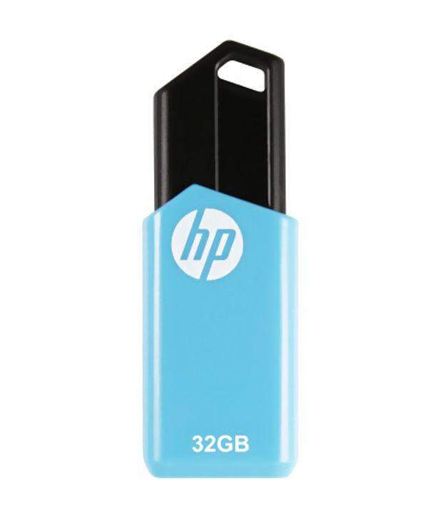 Image result for HP V150W 32 GB Pen Drive USB 2.0 Flash Drive (Blue) 32 GB Pen Drive  (Blue)