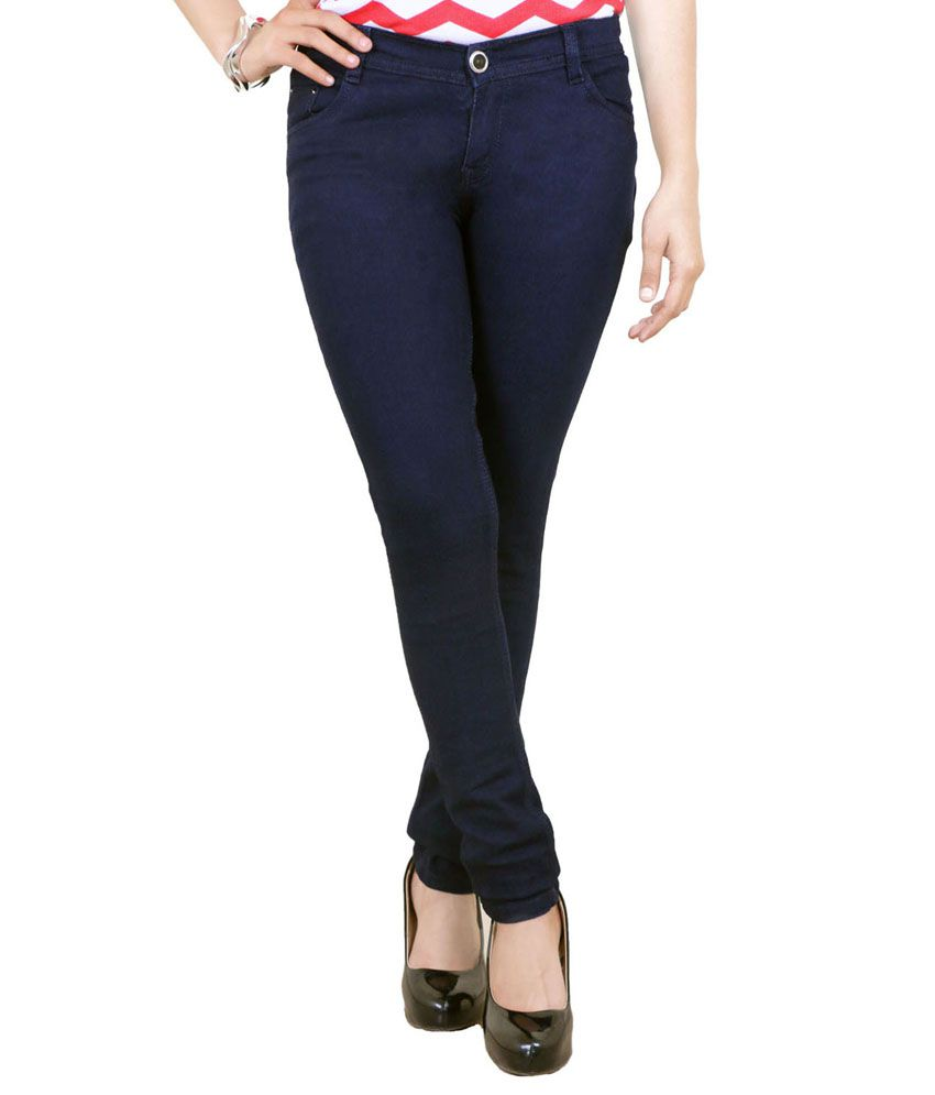 Shutup Blue Denim Lycra Jeans