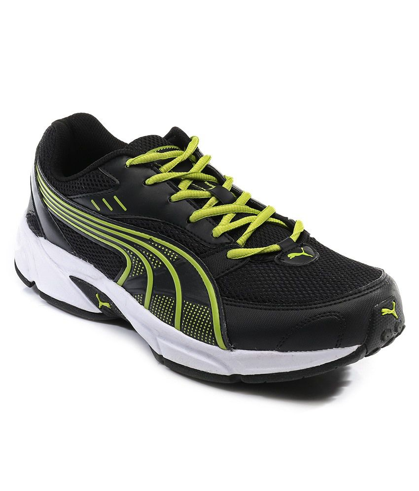 ... wholesale puma pluto dp black lime sport shoes dc85a 6464d 1c9e0e6bb