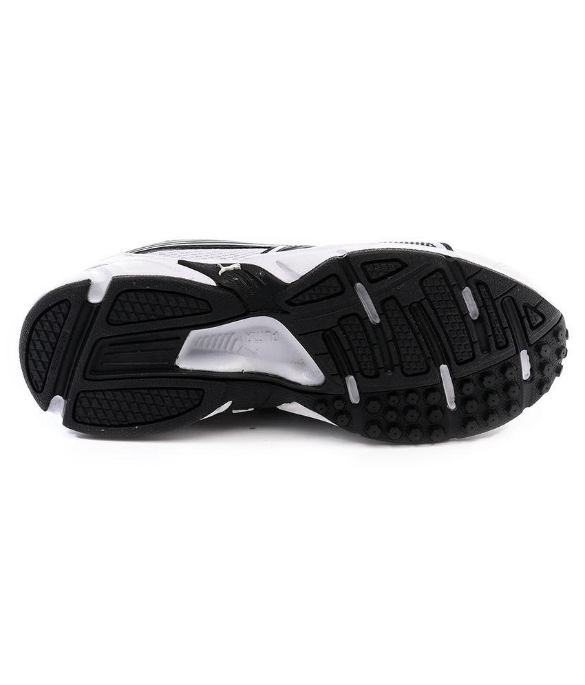 Puma Blue And White Mesh Sport Shoes