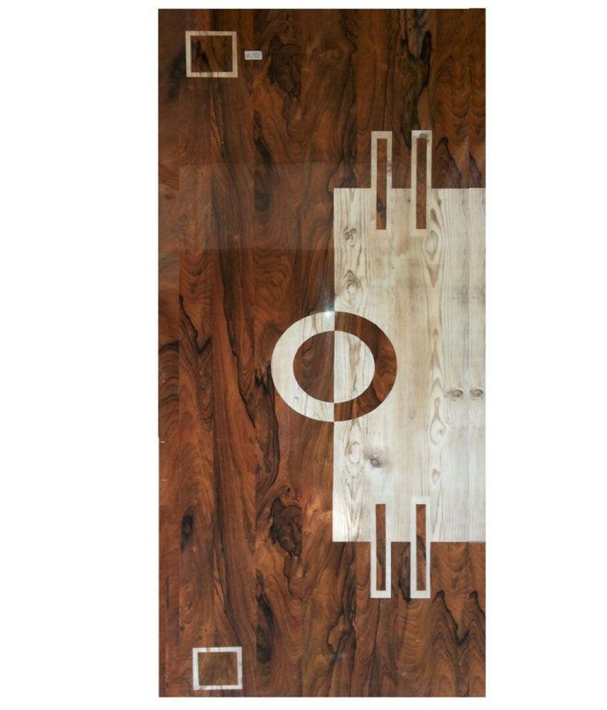 A B Pine Wood Designer Laminated Waterproof Door  sc 1 st  Snapdeal & Buy A B Pine Wood Designer Laminated Waterproof Door Online at Low ...
