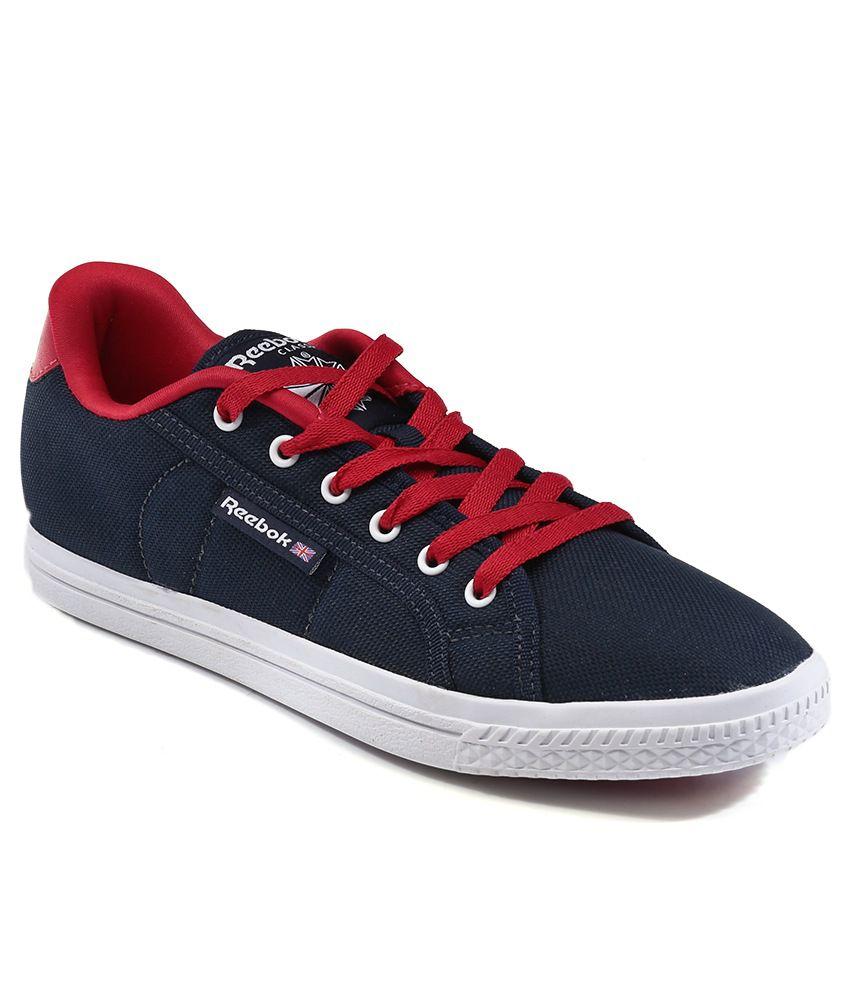 reebok navy canvas shoe shoes buy reebok navy canvas