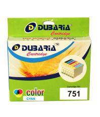 Dubaria 751 xl Compatible for Canon CLI -751 XL Ink Cartridge (Cyan)