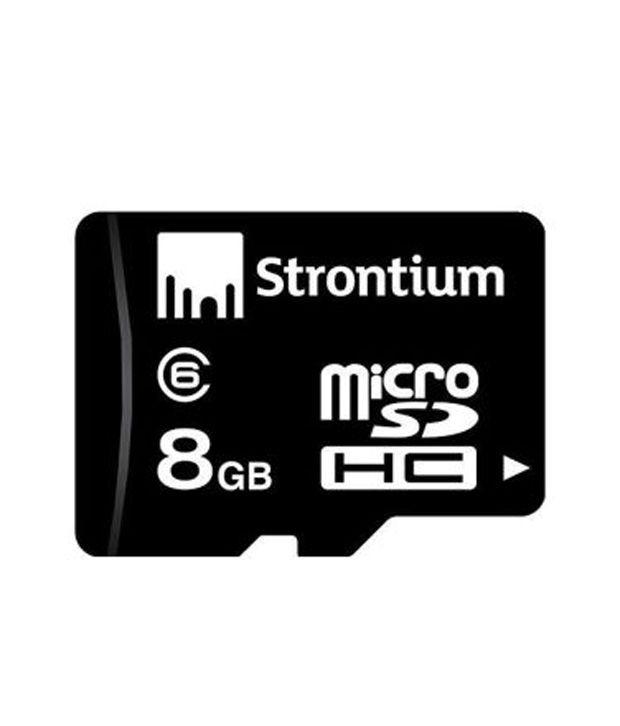 Strontium 8 GB Micro SD Card  Class6