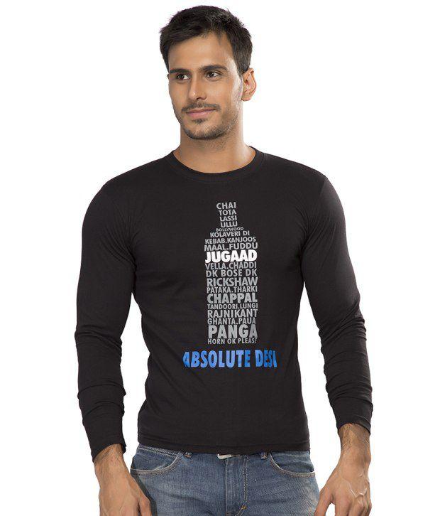 Alan Jones Absolute Printed Cotton Tshirt