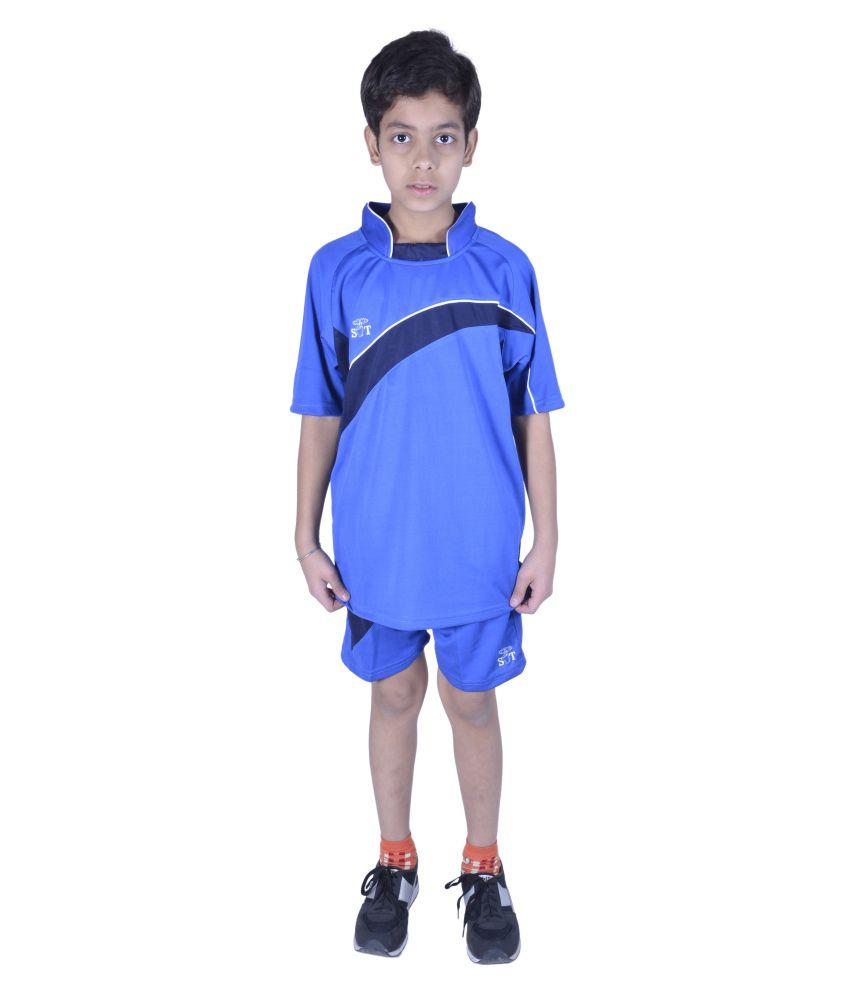 Sst Blue Football Active Wear
