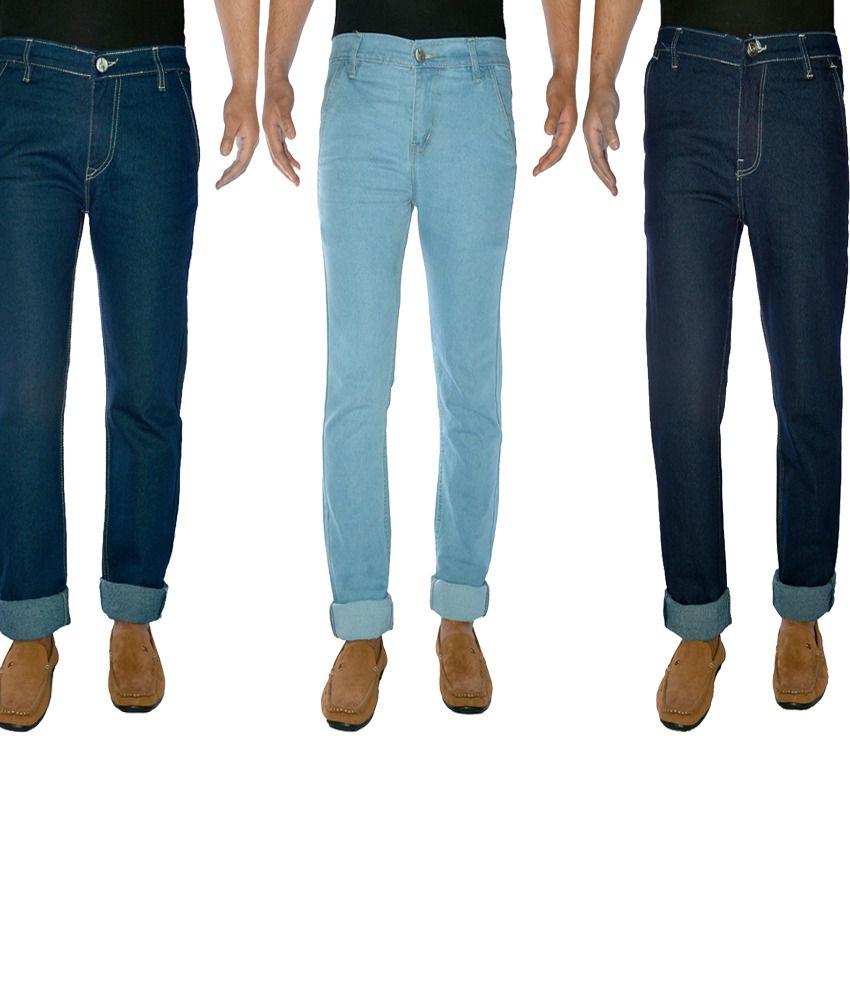 Western Texas Comfort Fit JeansFor Men