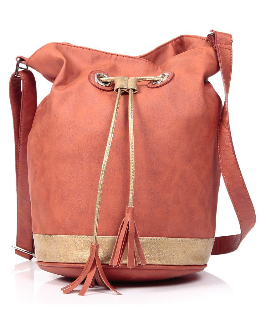 Baggit Orange Sling Bag