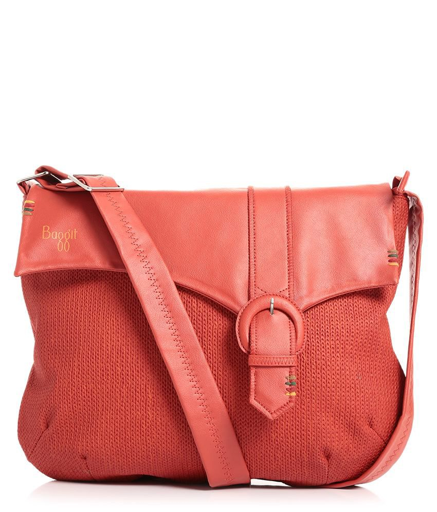 Baggit Red Sling Bag