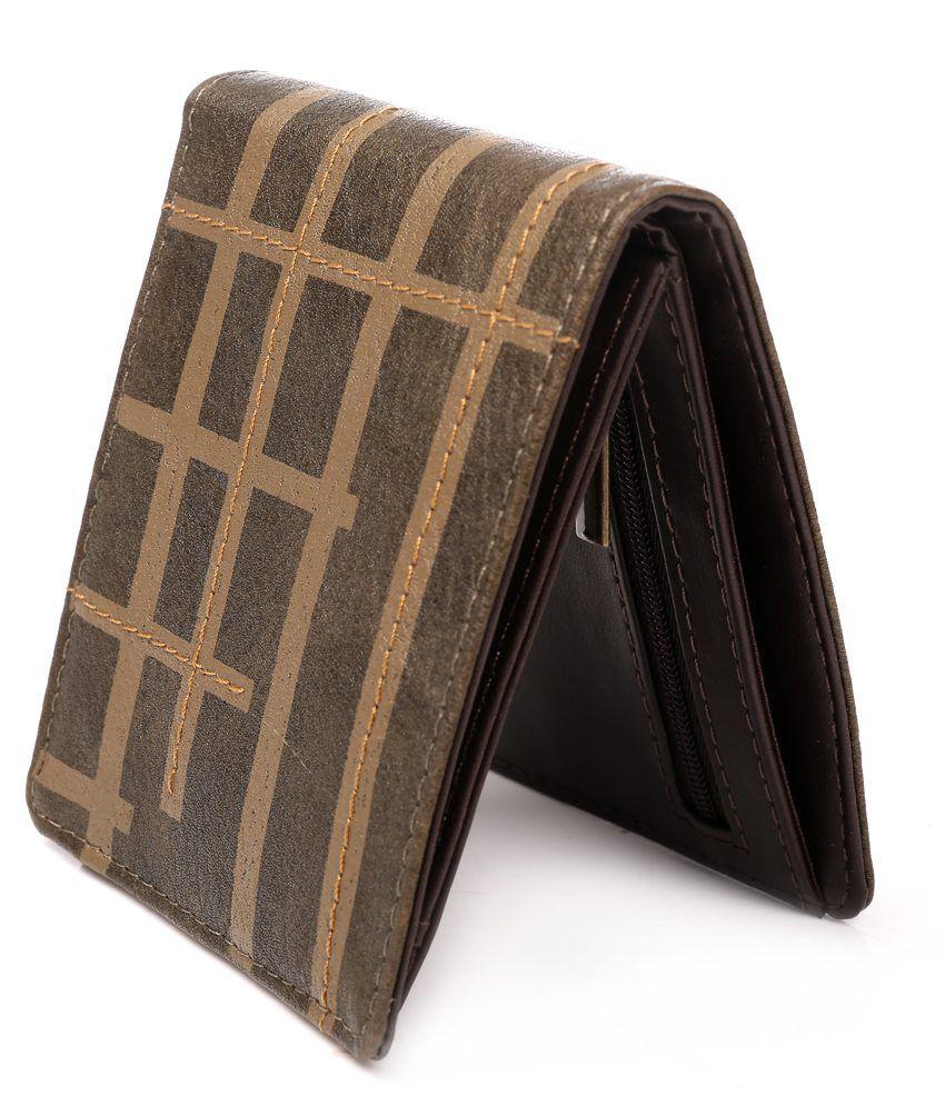 Baggit Men Casual Brown Wallet