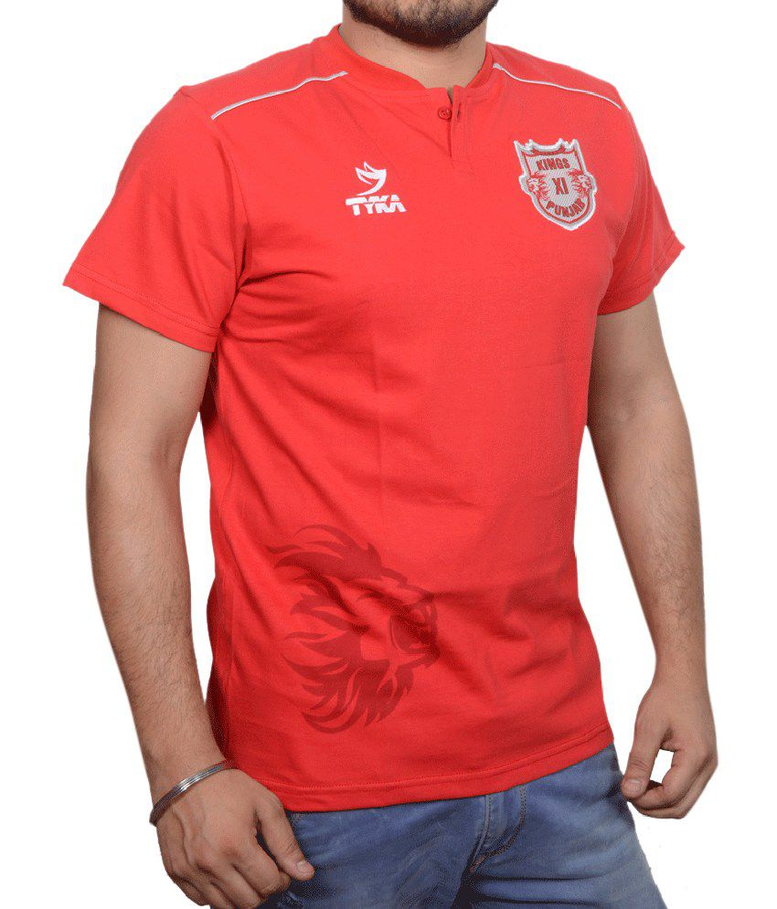 Kings XI Punjab Official Casual Tee