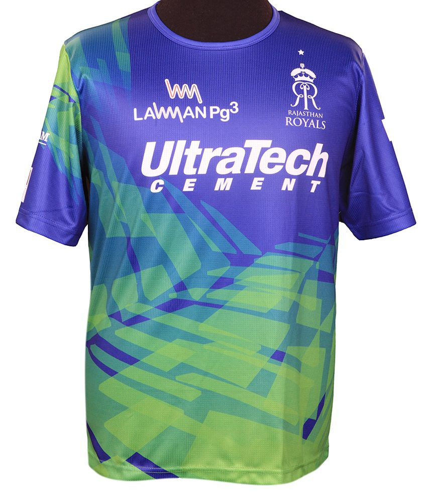 IPL T20 Rajasthan Royals Official Team Training Jersey (Knocked Down Version)