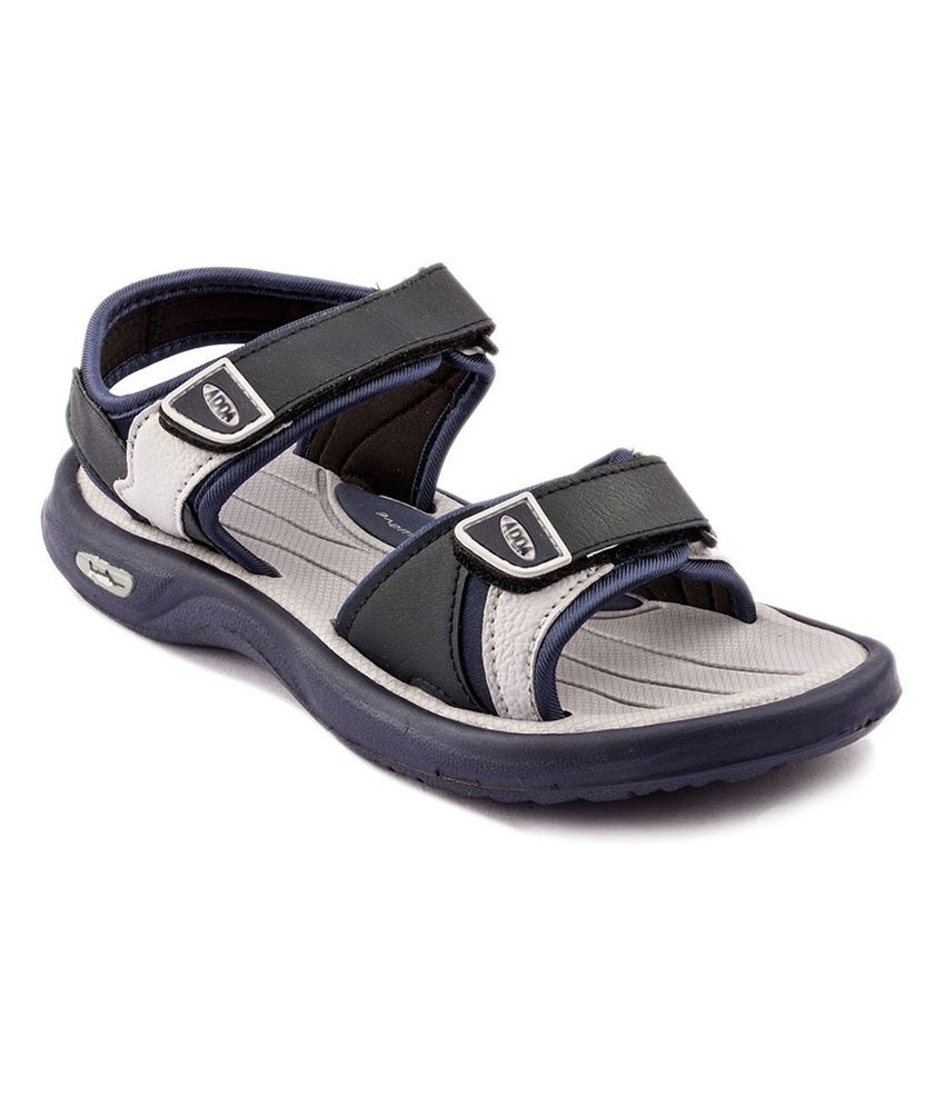 17f56a3a6 Adda Gray Synthetic Leather Daily Wear Sandals for Men Price in India- Buy  Adda Gray Synthetic Leather Daily Wear Sandals for Men Online at Snapdeal