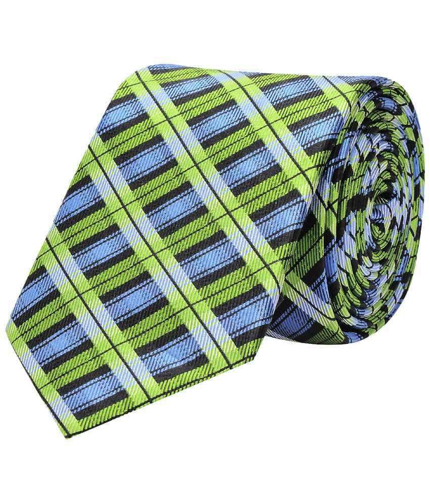 Tiekart Woven Silk Rejuvenate Multicoloured Diagonal Neck Tie