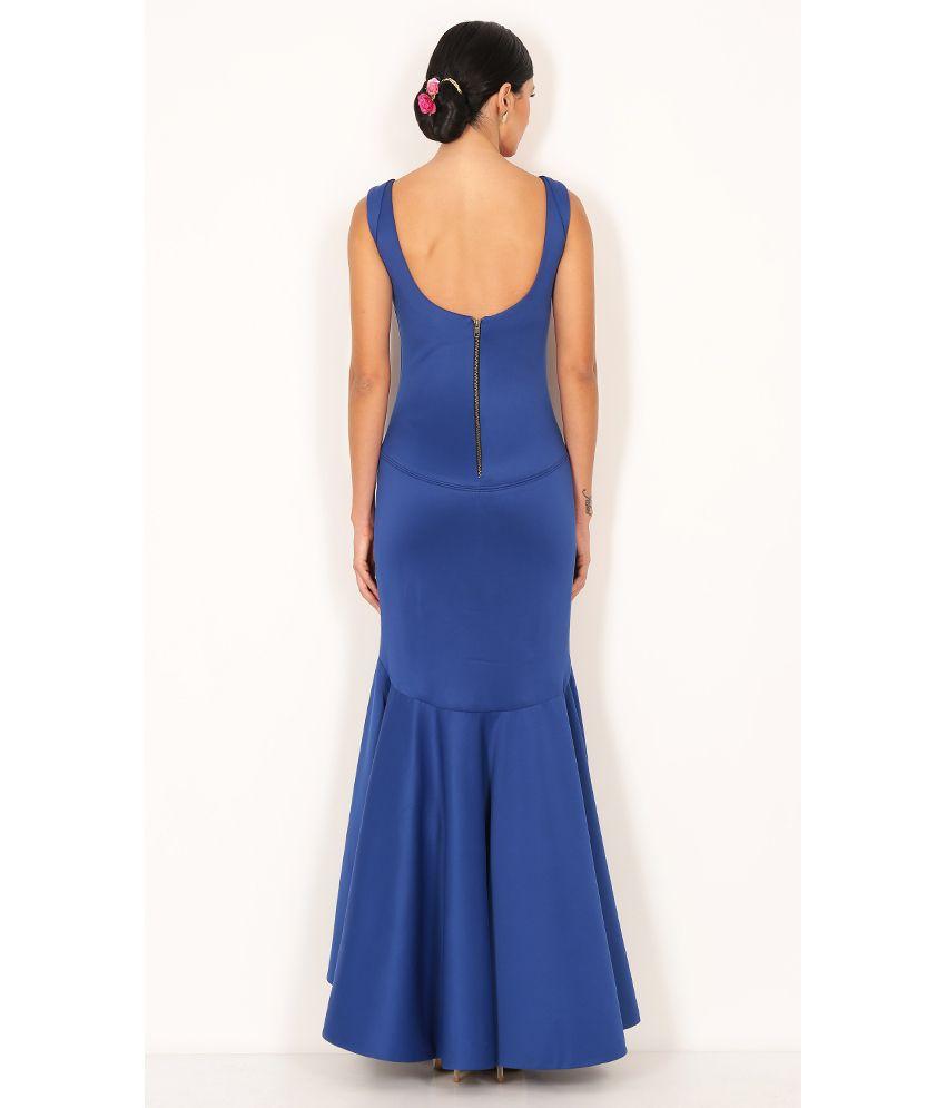 Voiix Slim Fish Cut Gown Buy Voiix Slim Fish Cut Gown Online At