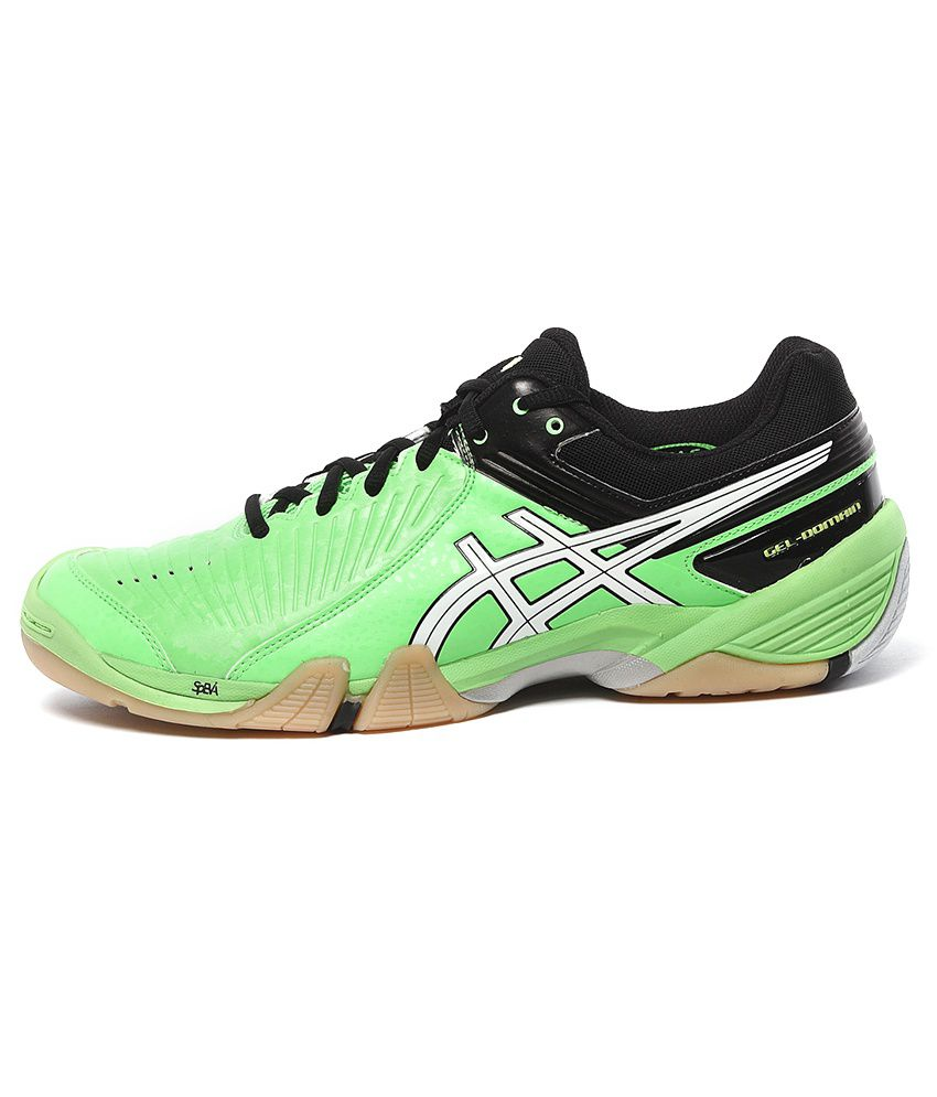 ... Asics GEL-DOMAIN 3 Green Sport Shoes ...