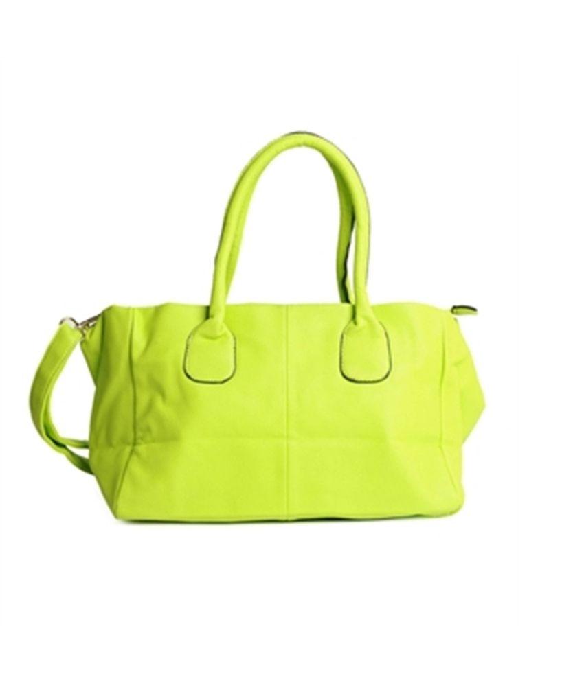 Atmosphere Green Satchel Bag