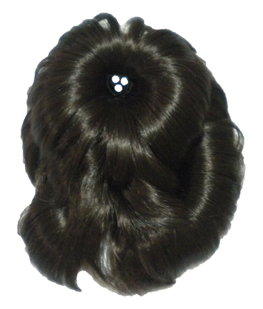 Ponypockets Brown Facny Juda Style Hair Switch With Back Clip Buy