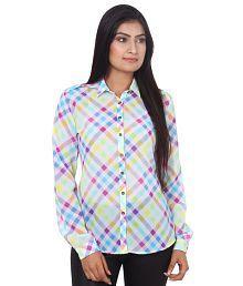Mallika Multi Color Polyester Shirts