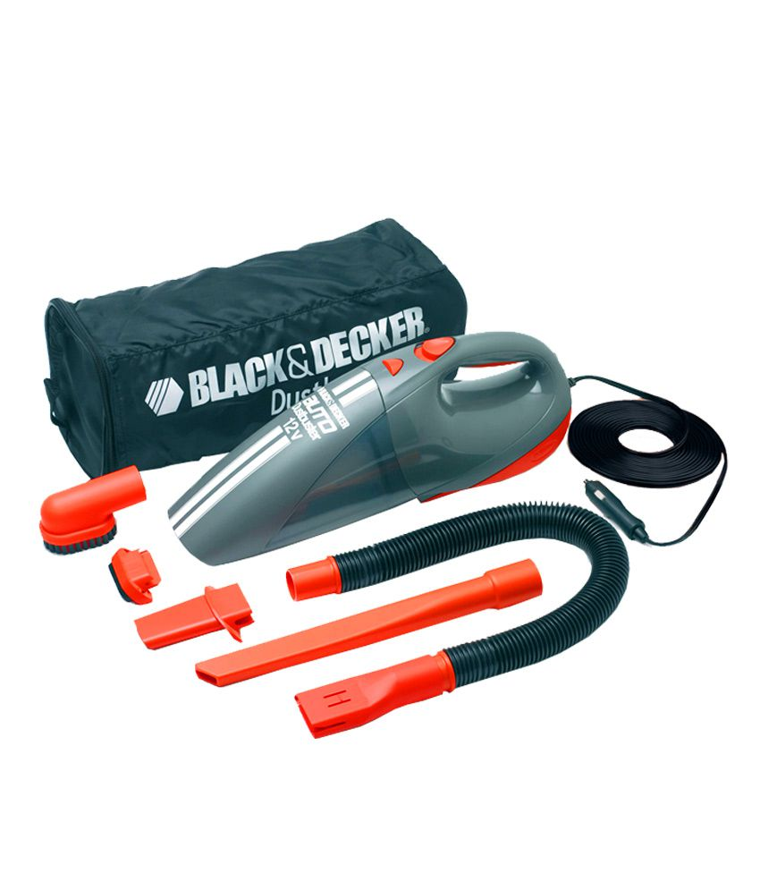 Black Amp Decker Acv1205 12 Volt Car Vacuum Cleaner With