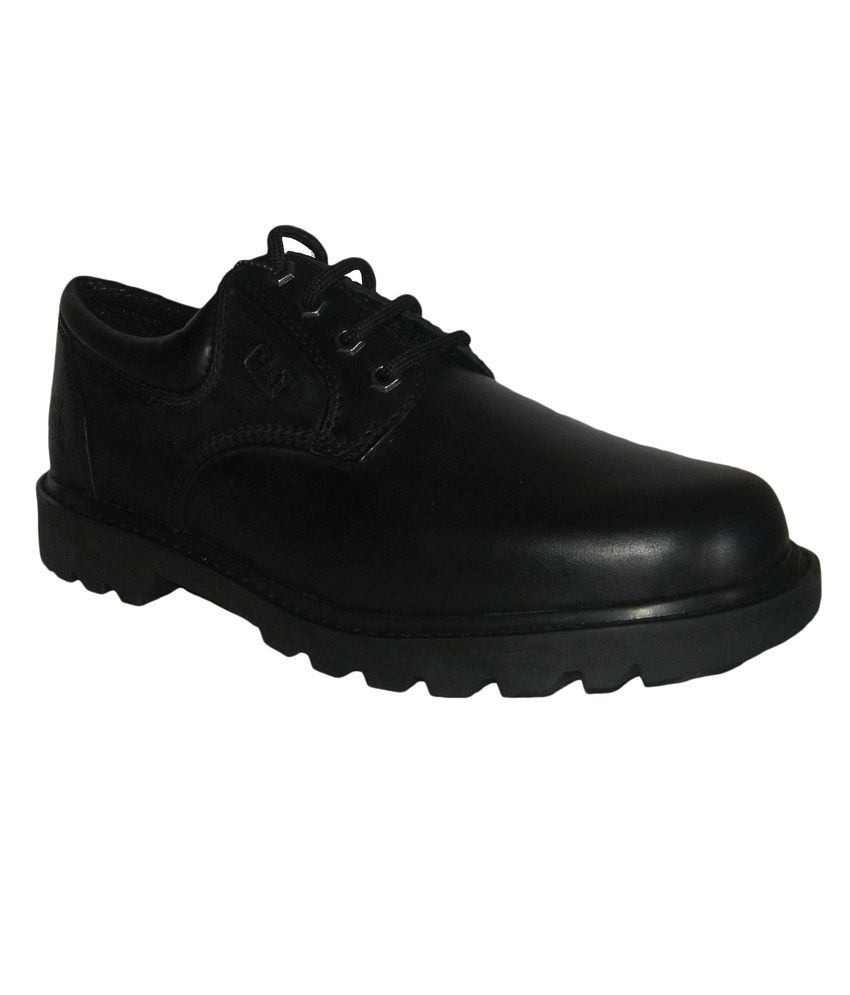 Caterpillar Black Leather Daily wear Boots