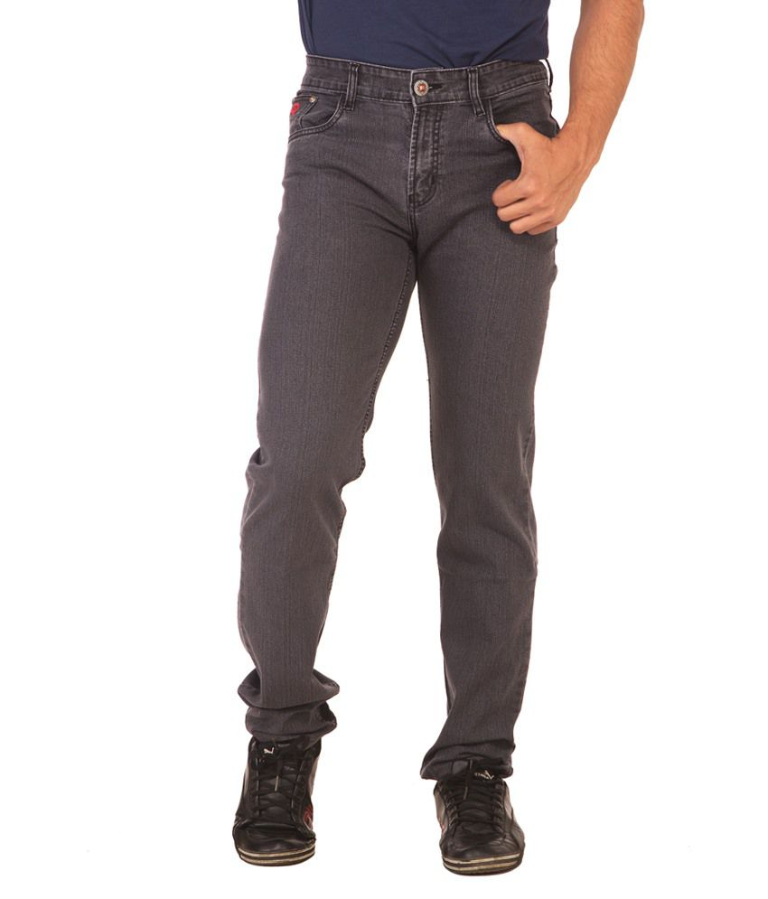 Race-Q Black CB Jeans For Men