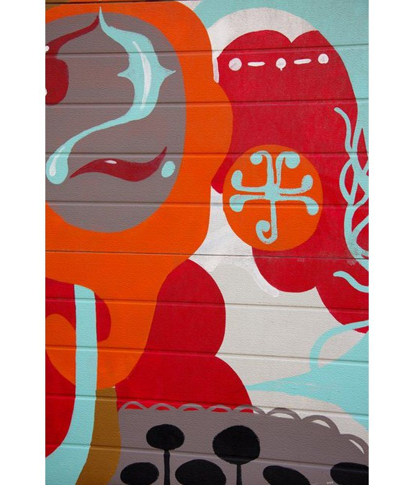 Wonder Images Pvt. Ltd. Abstract Geometric Canvas Art