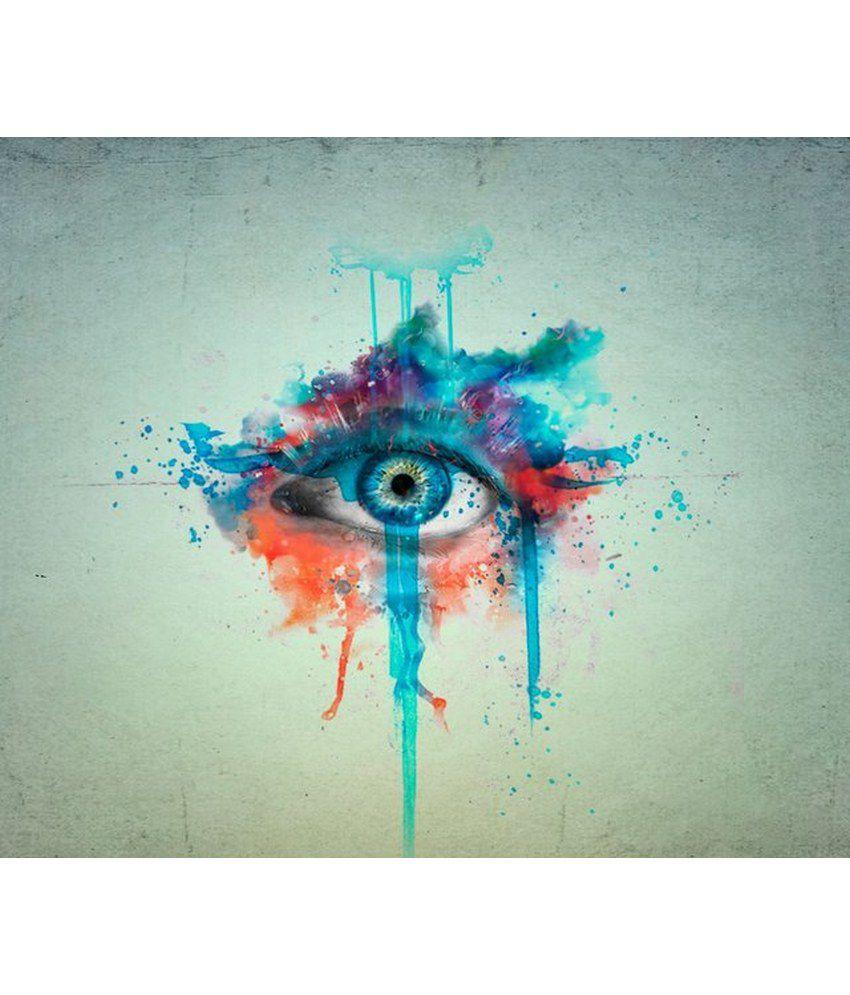 Wonder Images Pvt. Ltd. Artistic Eye Canvas Art