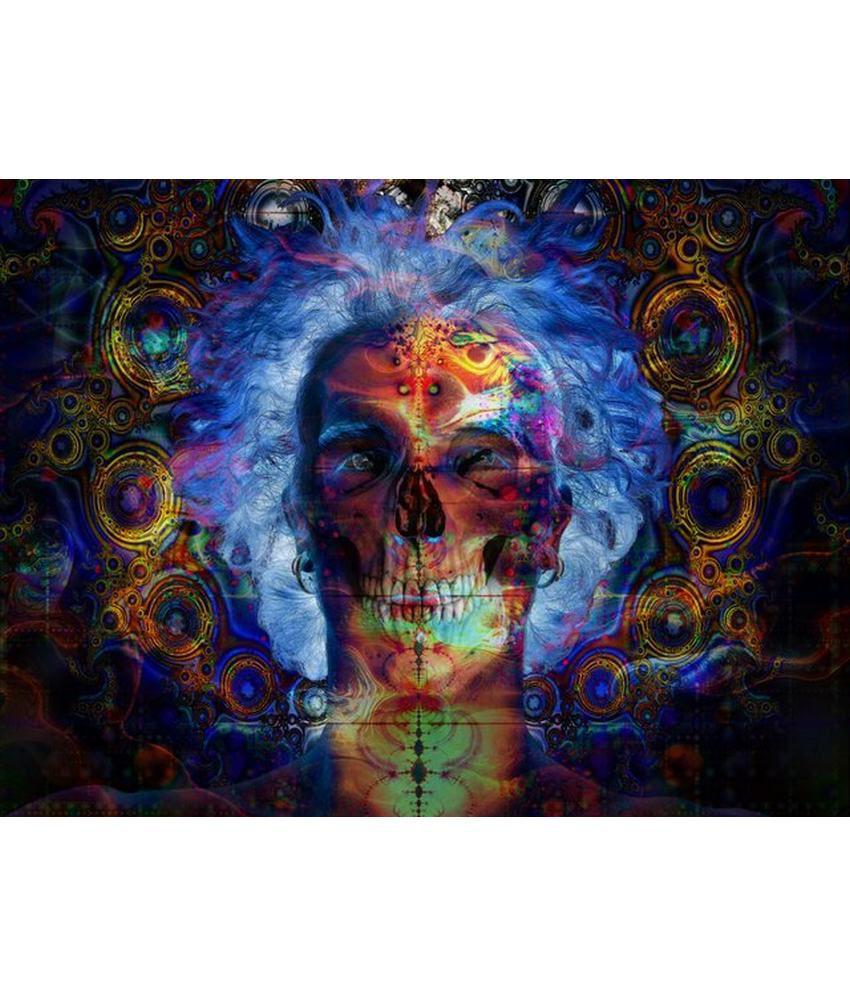 Wonder Images Pvt. Ltd. Psychedelic Fusion Canvas Art
