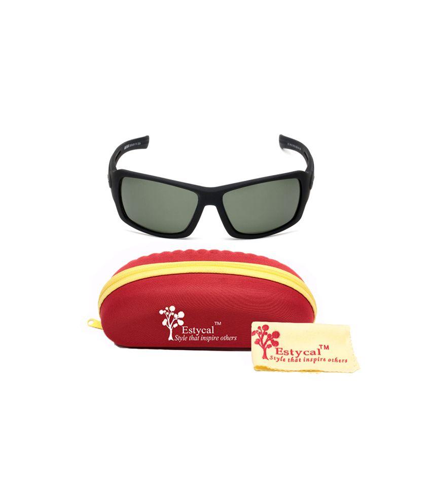 85d13b60162 Estycal Black Brave Heart Polarized Sunglasses - Buy Estycal Black ...
