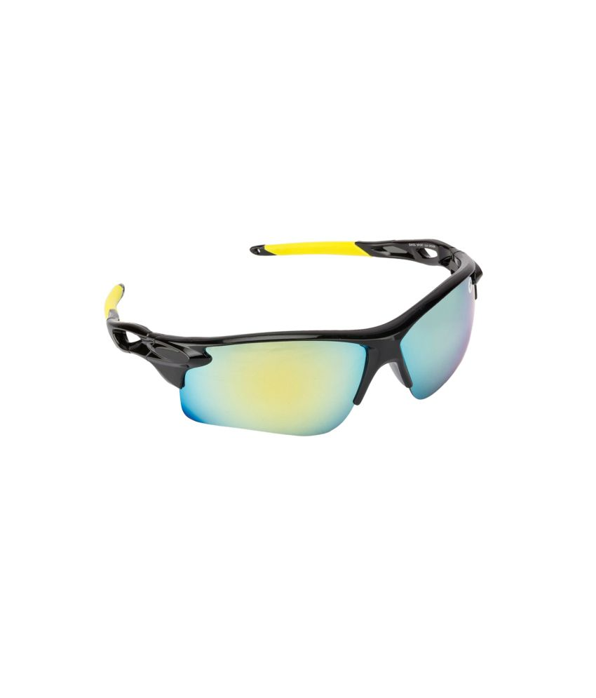 745a98e56de Fair-X Black Frame Golden Mirror Sports Goggles For Men   Women - Buy  Fair-X Black Frame Golden Mirror Sports Goggles For Men   Women Online at  Low Price - ...