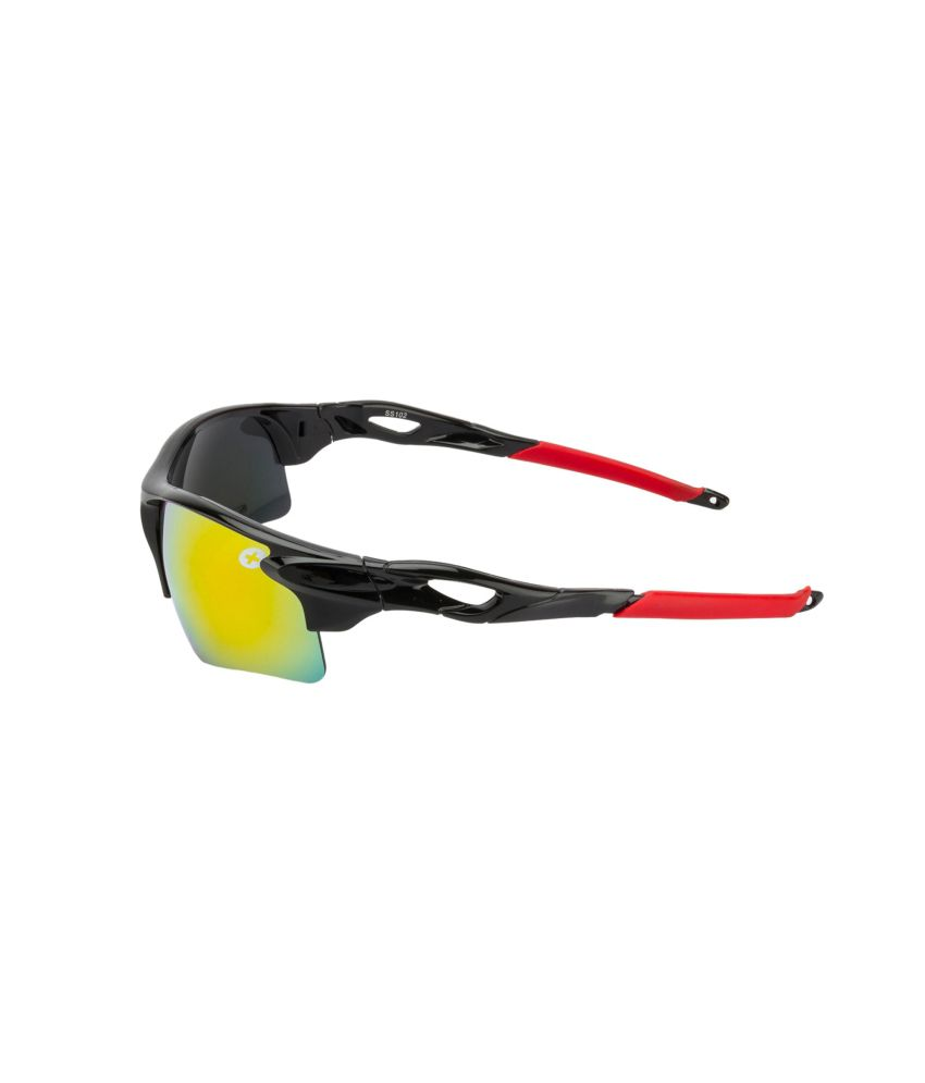 745d915cd6 Fair-X Black Frame Red Mirror Sports Goggles For Men   Women - Buy ...