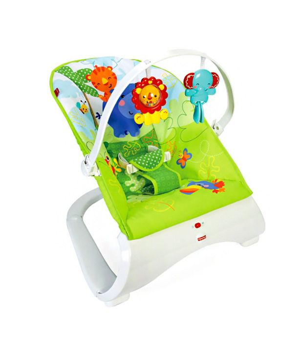 Fisher Price Fisher Price Rainforest Friends Comfort Curve Bouncer