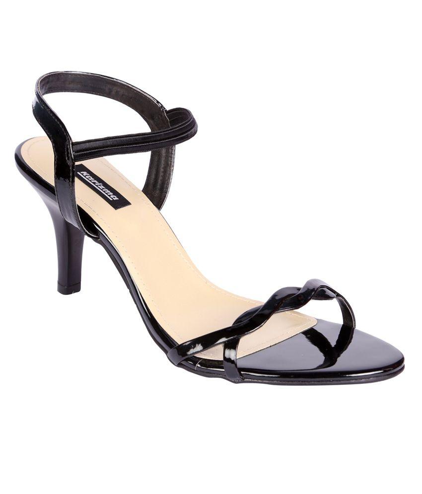 eedfeb69591 Karizma Women s Designer Black Stiletto Sandal Heels Price in India- Buy  Karizma Women s Designer Black Stiletto Sandal Heels Online at Snapdeal