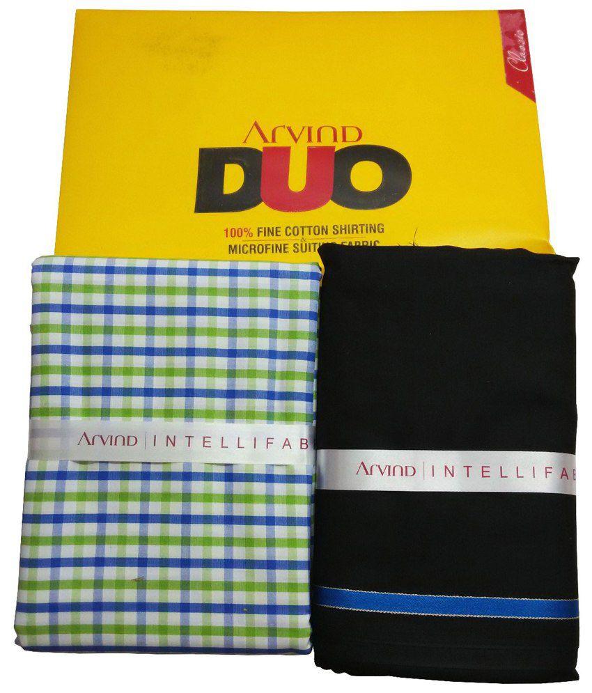 Arvind Shirt Fabrics - thelibasstore.com