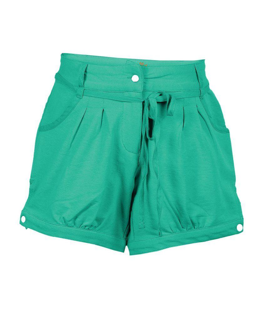 Ello Green Shorts For Kids
