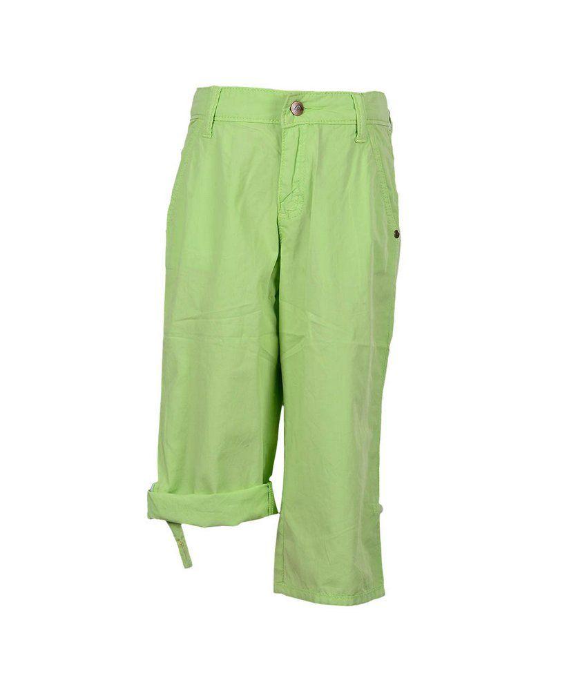 Ello Lt Green Capri For Kids