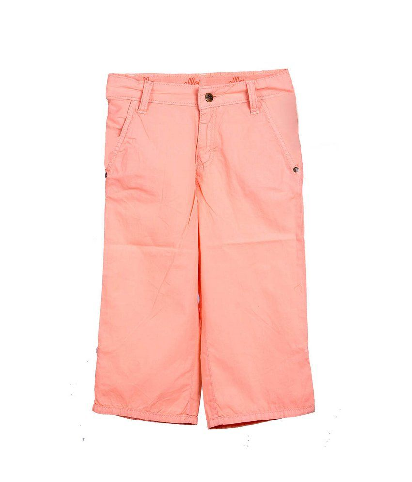 Ello Peach Capri For Kids