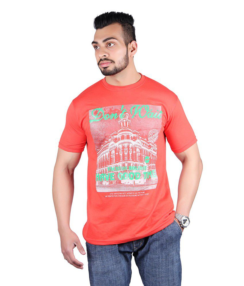 Shineway Graphic Light_Red T-Shirts