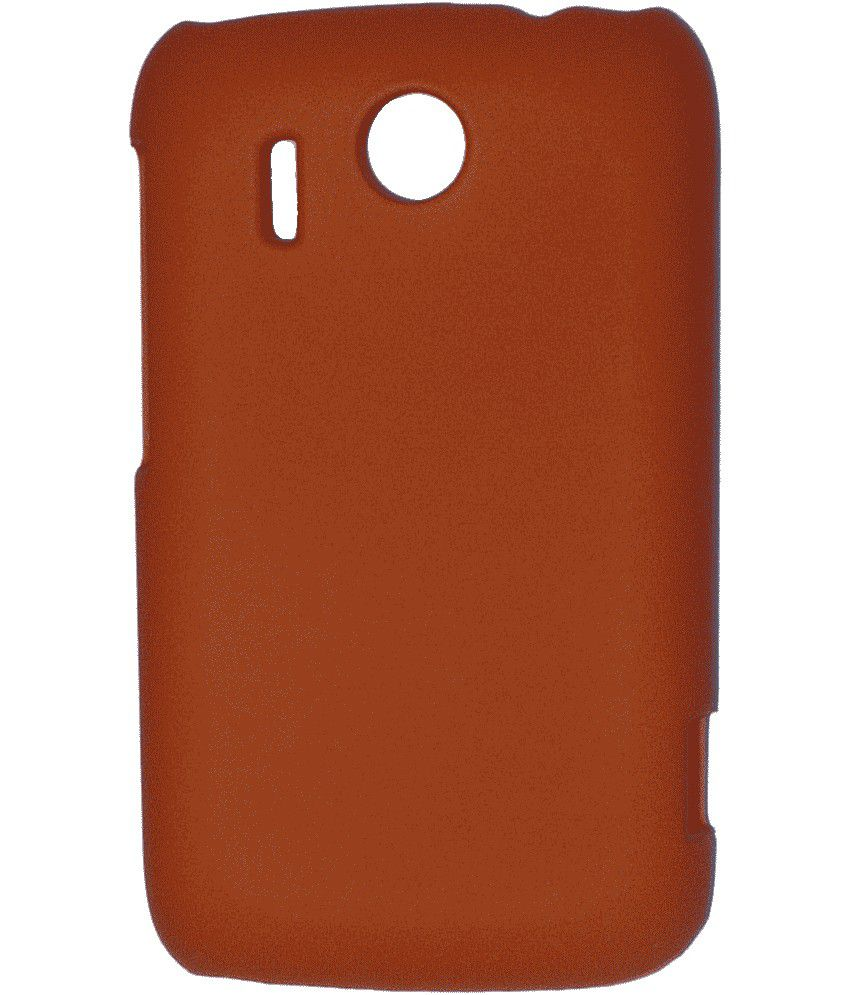 save off 93ffd 7191f Unbranded Back Cover Cases For Htc Explorer A310e - Orange - Plain ...
