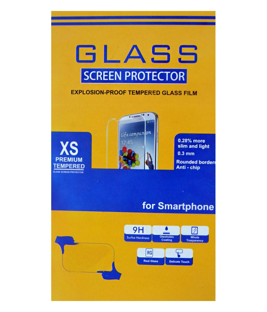 XS Premeium Tempered Glass Screen Guard Scratch Protector for Apple Iphone 6plus
