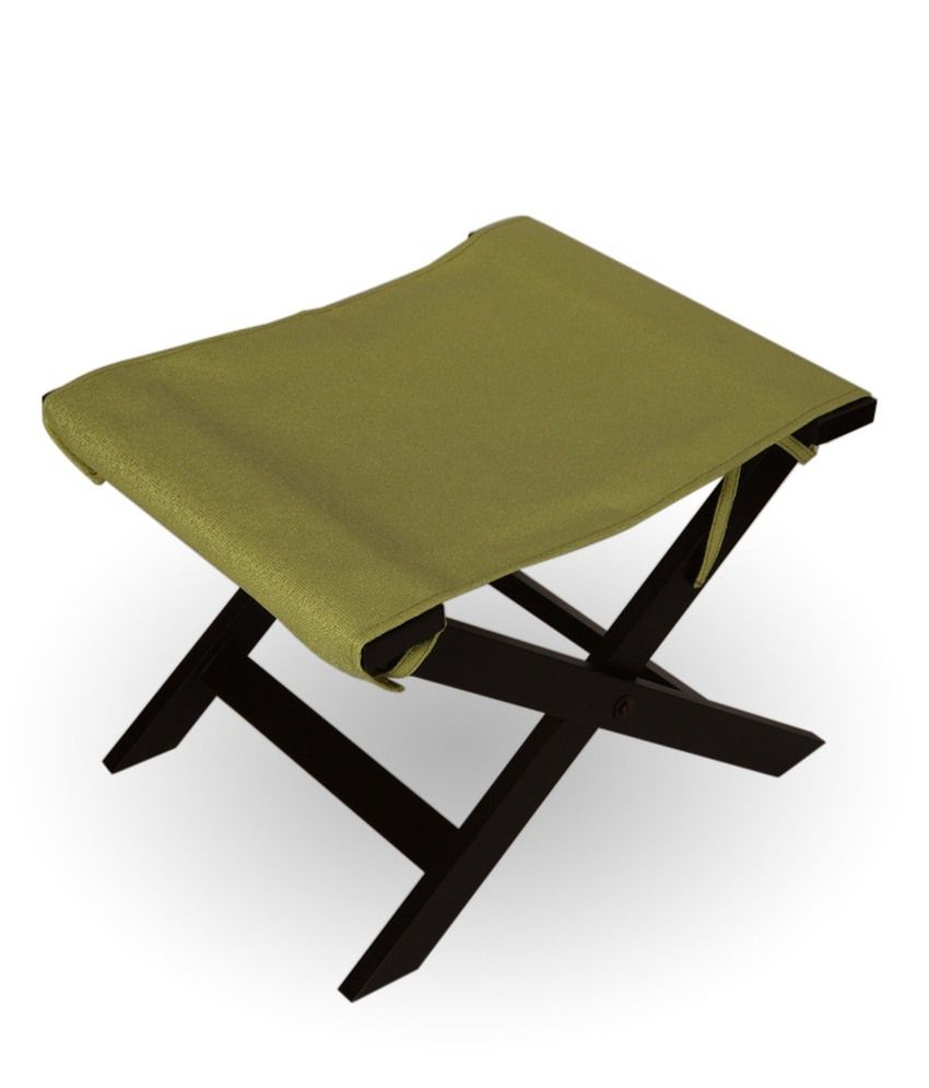 Arra Jinjer Contemporary Foldable Stool - Green