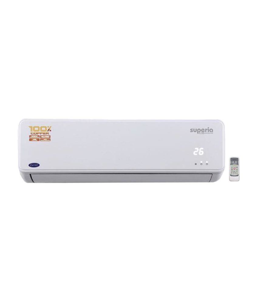 carrier air conditioner prices. carrier 1 ton superia inverter split air conditioner prices