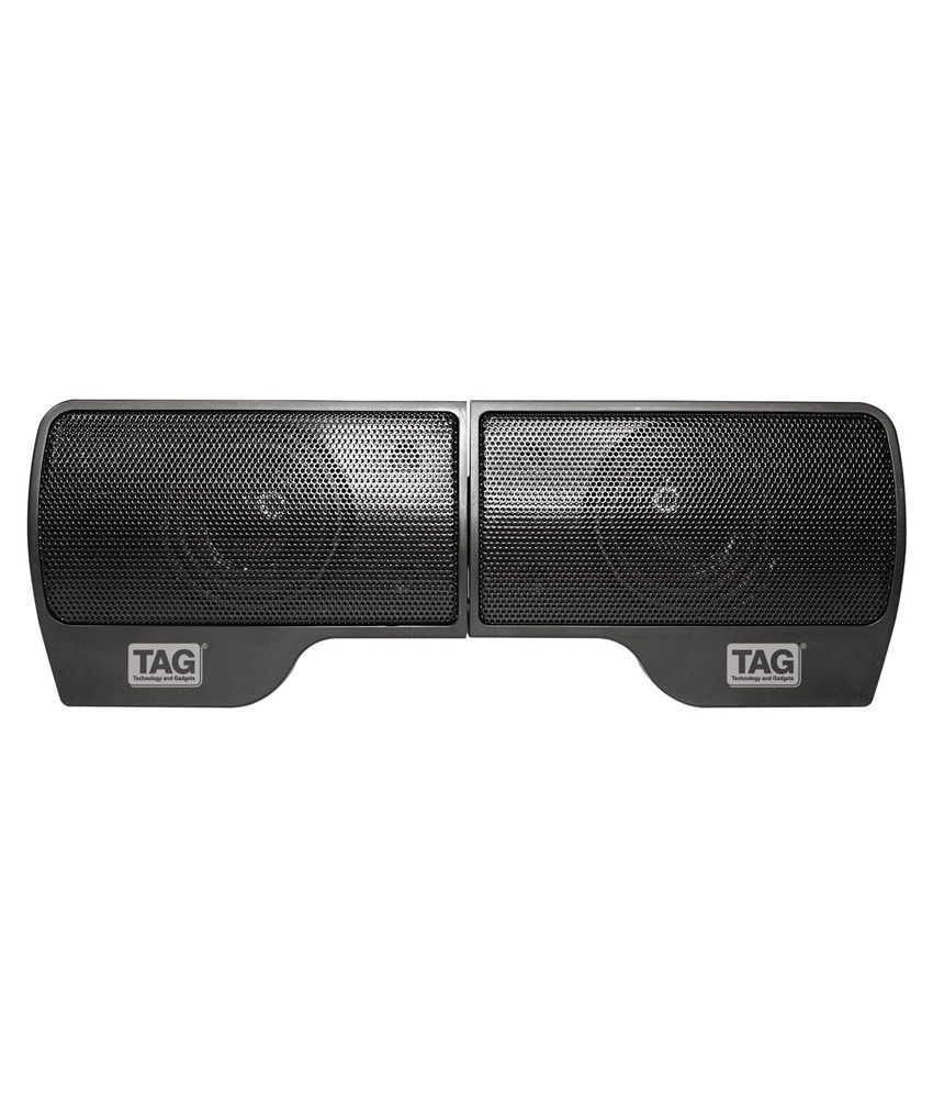 Tag Usb Speakers 2 Computer Speakers Black