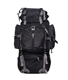Redan Black Hiking Backpack