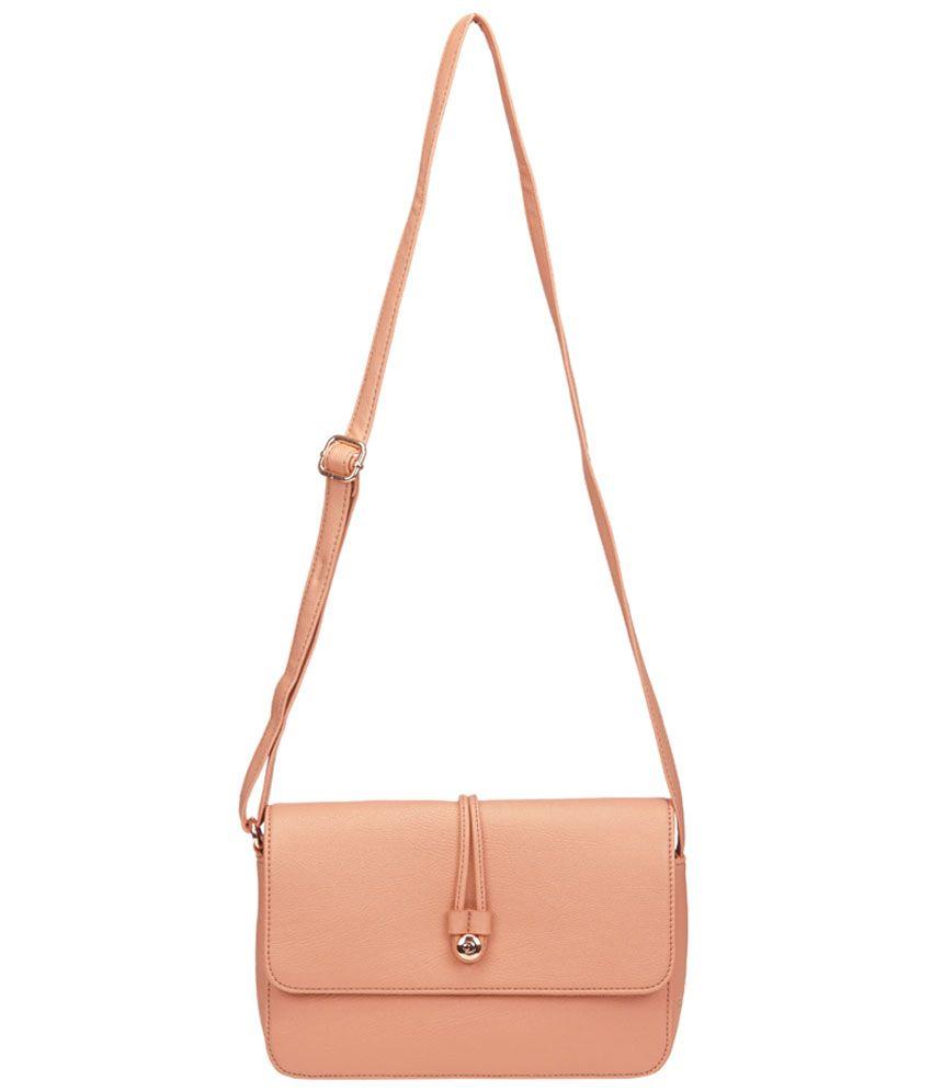 Caprese Peach Sling Bag - Buy Caprese Peach Sling Bag Online at ...