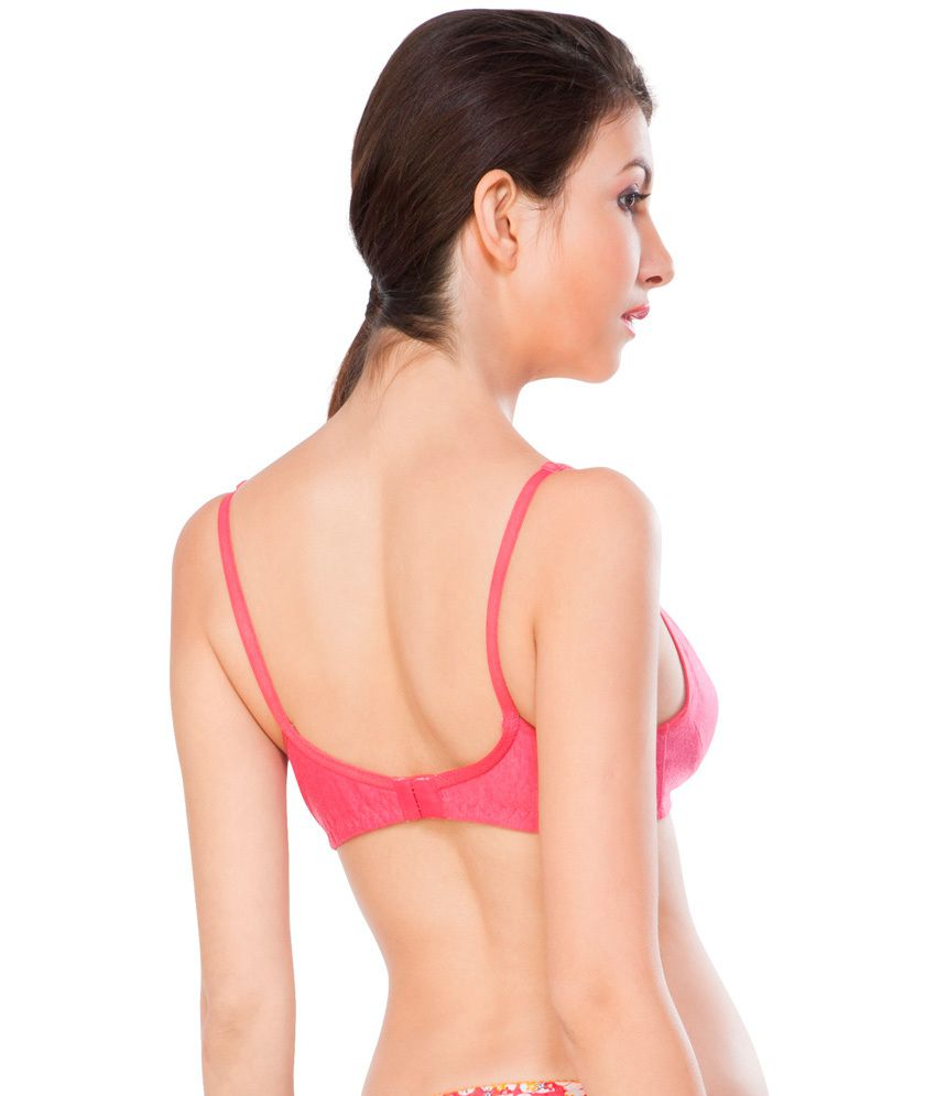 932936d5e5 Buy Nagina Pink Cotton Bra Online at Best Prices in India - Snapdeal