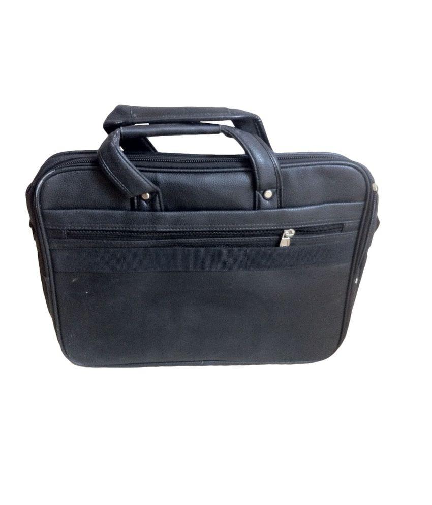 0bcb30e2538 Rock Polo Official Italian Leather Laptop Bag Black - Buy Rock Polo ...