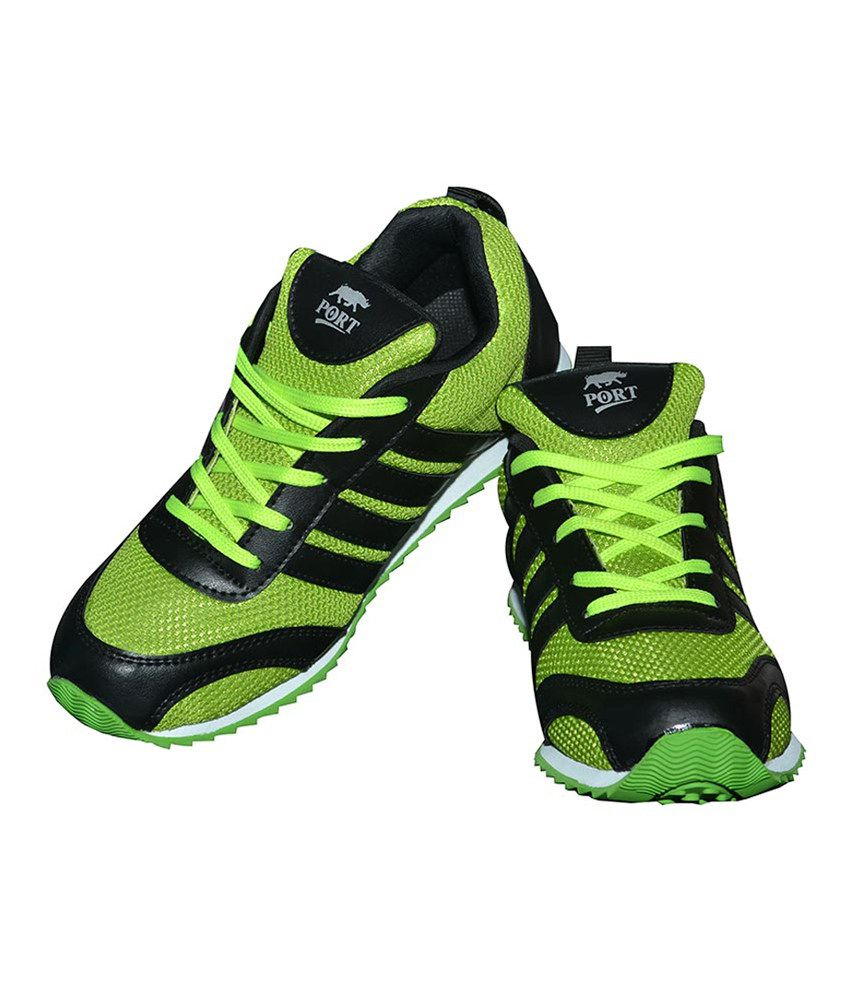 Port Green Running Sport Shoes