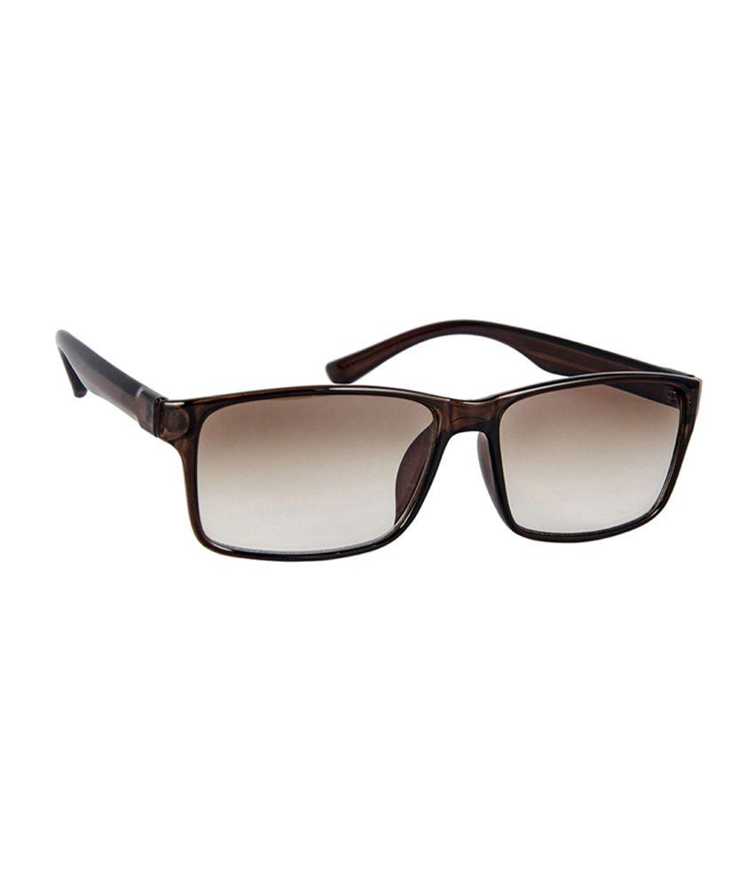 David Blake 52012 Size-58 Brown Wayfarer Sunglasses